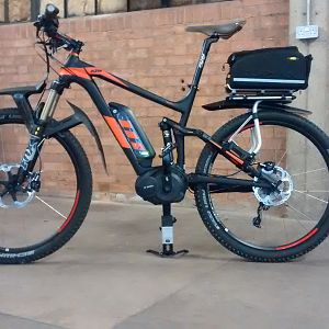 KTM Macina Lycan - with ALL the accessories
