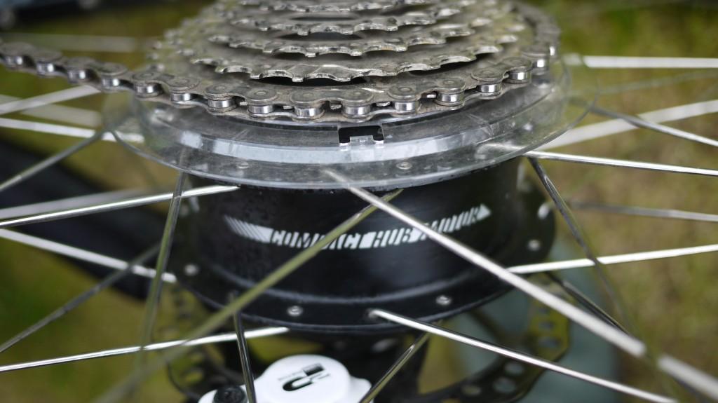 Panasonic compact hub motor system