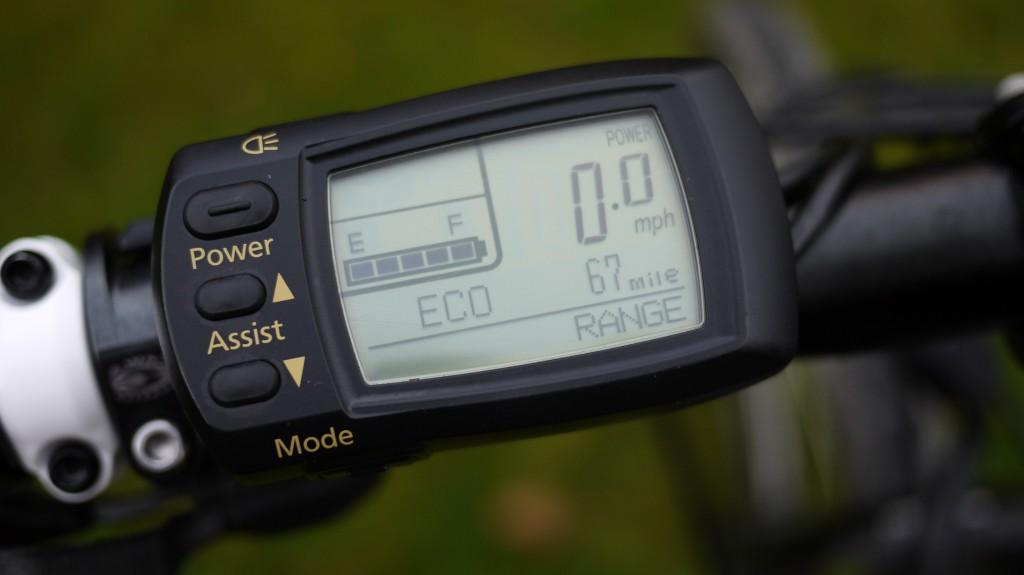 KTM eCross P display ECO setting