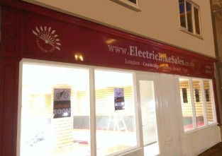 TETS electric bike retailers Cambridge