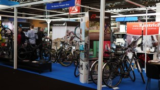 Electric bikes at the Gadget Show