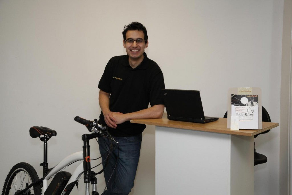 Rami Akily CycloTricity E-bikes office