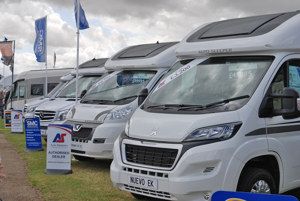 Autosleepers at Norfolk Motorhome Show