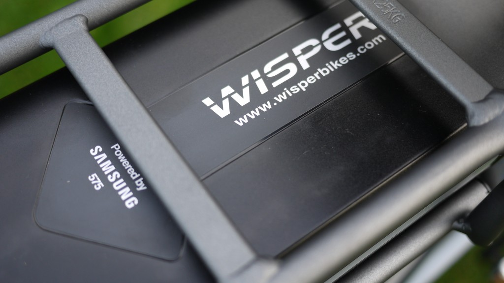 Wisper 905 torque review - 575Wh Samsung battery