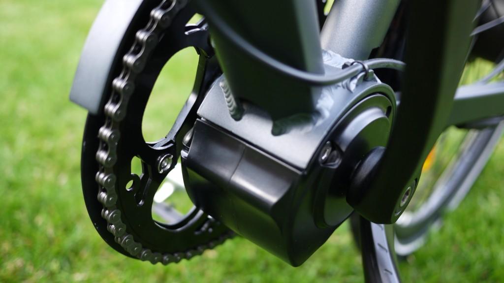 Wisper 905 torque review - bottom bracket integrated torque sensor