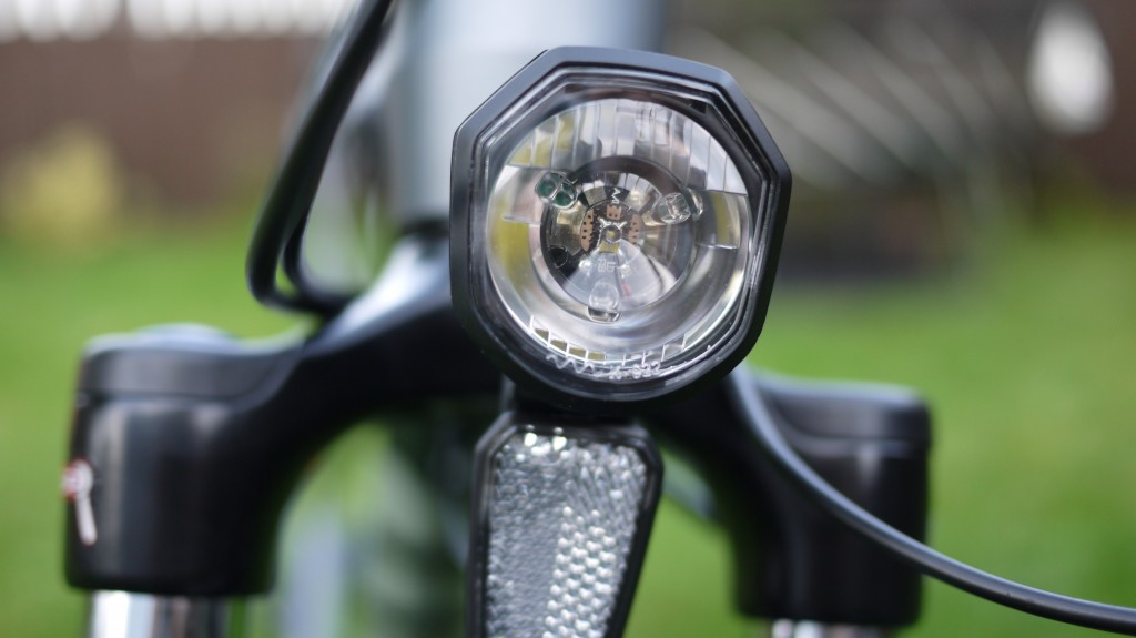 Wisper 905 torque review - front LED lights