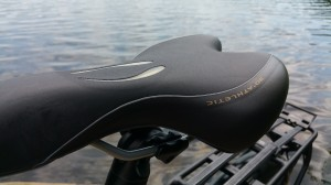 blueLABEL Charger Review - saddle