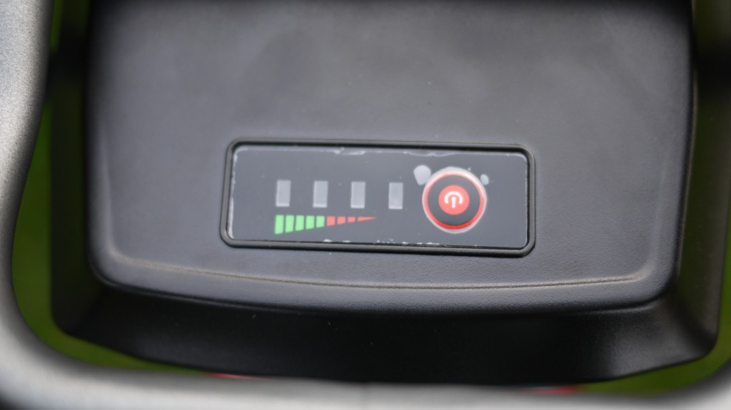 wisper 905 torque review - led battery power indicator on battery