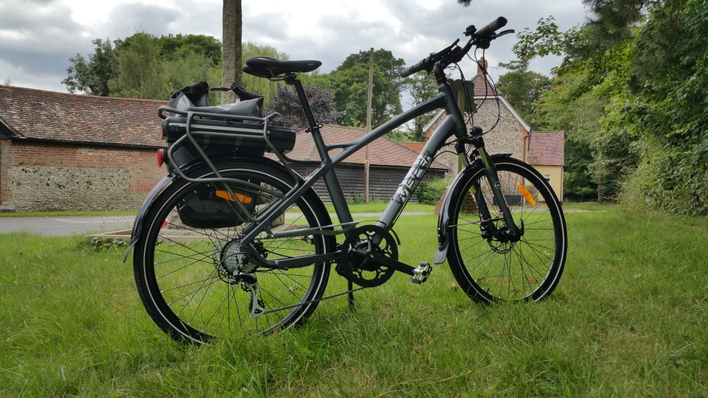 wisper 905 torque review - touring with panniers