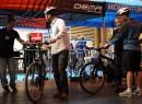 NEC electric bike test track