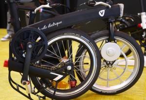 V'lec electric folding bike