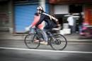 E-biking to work
