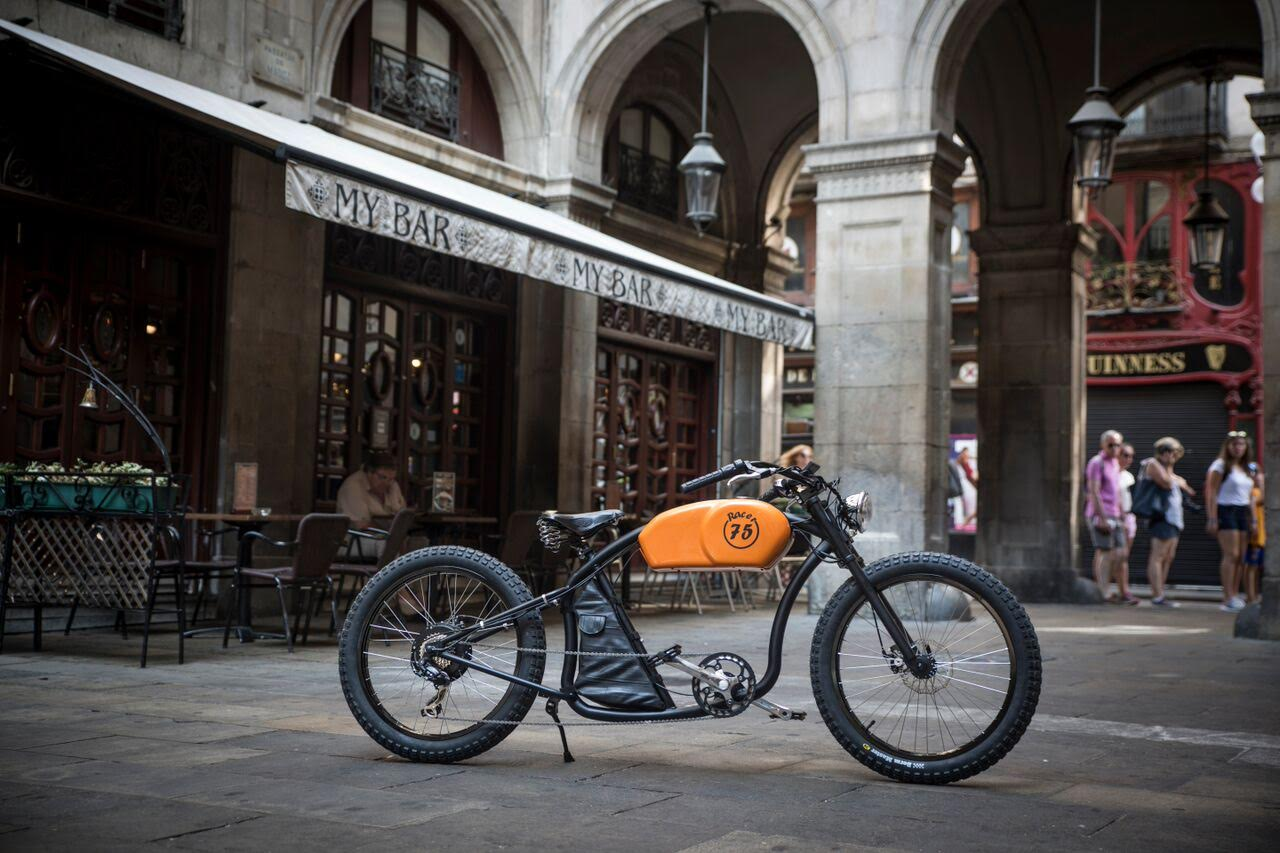 Otocycles Launch Cafe Racer E Bike