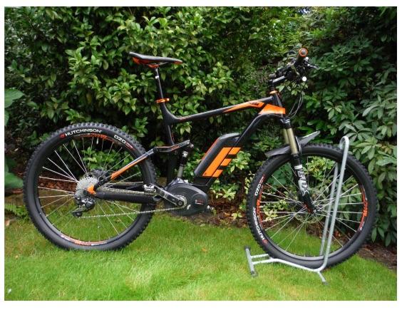 Eddie's KTM e-bike