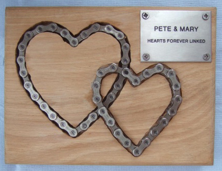 Pete and Mary's plaque