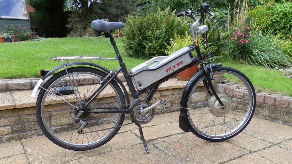 First electric bike from Ebay