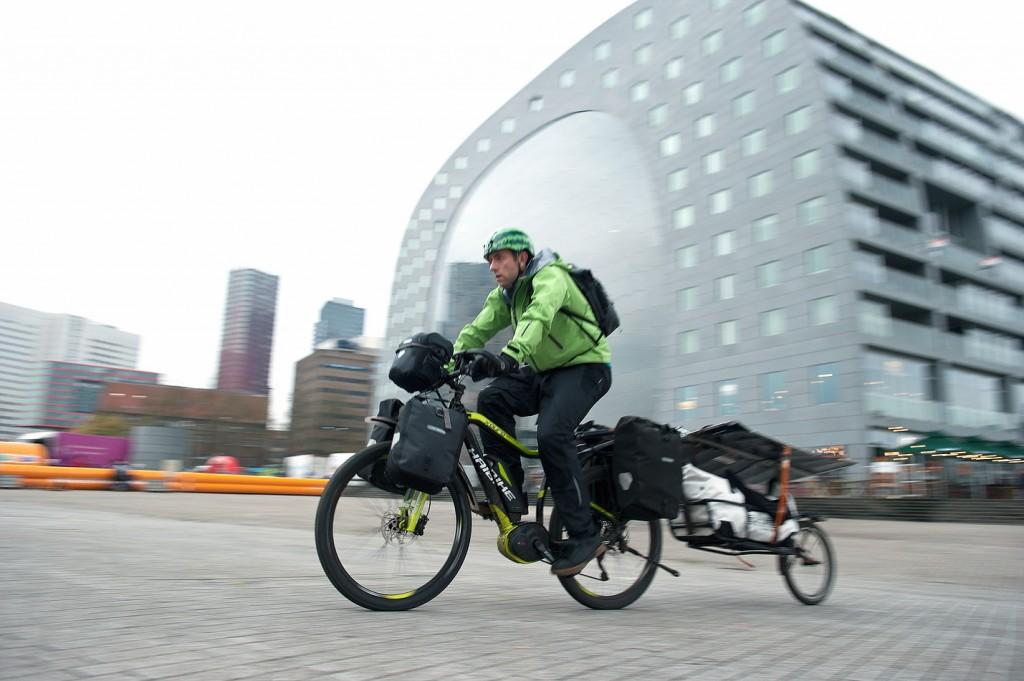 Bruce in Rotterdam