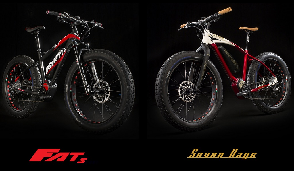 Fantic Fat Sport and Seven Days