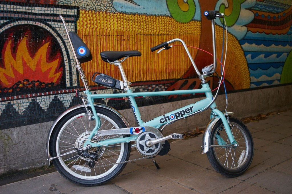 Raleigh Chopper convert body copy