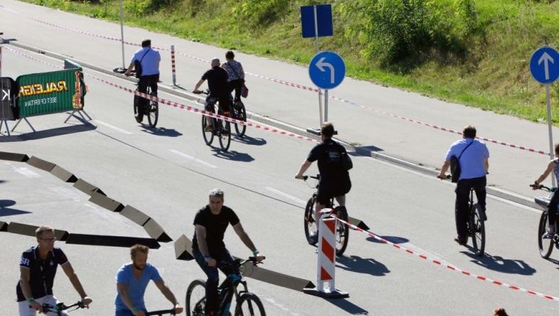 Eurobike demo track