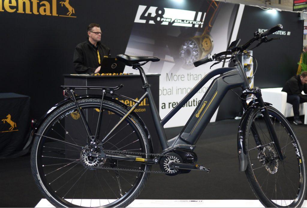 Continental 48V e-bike system