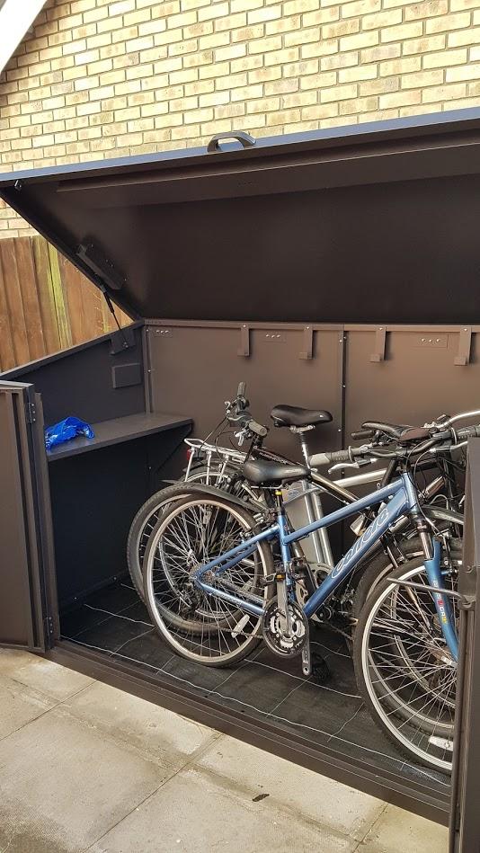 Asgard Access E Plus Bike Storage Review Pedelecs