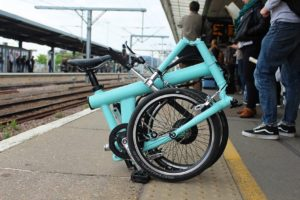 electric folding bike FLIT