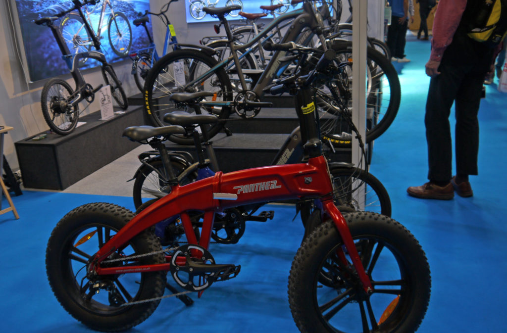"Panther - including 20"" folding fat bike"
