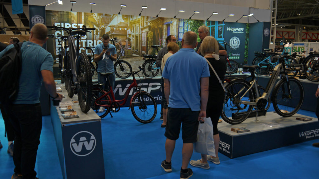 Wisper stand Cycle Show 2019